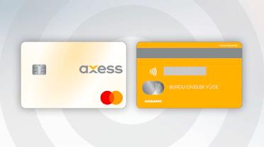 Numarasız Kart Akbank Axess Kredi Kartı